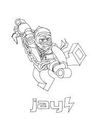 Easy Lego Ninjago Coloring Pages Printable Coloring Page 4 Kids