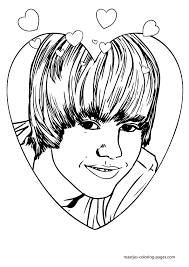 Small Picture Justin Bieber coloring pages
