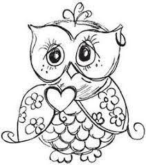 Image Result For Schattige Kleurplaten Uiltjes Owls Owl
