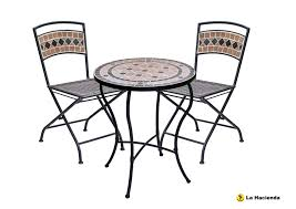 pompei bistro table chair set 2 chairs patio garden