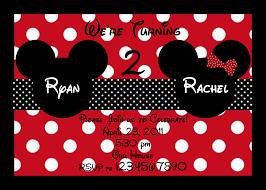 mickey and minnie twin birthday invitations com innovative mickey mouse invitations like cool birthday