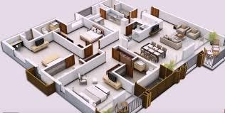 two bedroom floor plans india 2bhk