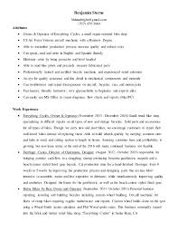 Mechanic Resume Interesting Master Bike Mechanic Resume