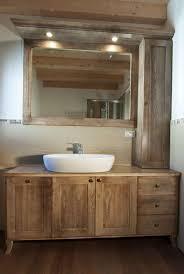 Mobile bagno in legno arte povera. mobili di stile in legno