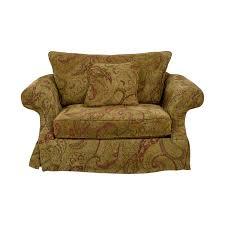 bernhardt gold and red love seat bernhardt sofas