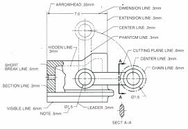 They are dotted lines, but a long line of 10 20 mm engineering drawings generally deal with mechanical engineered items, such as manufactured. Technical Drawing Alphabet Of Line Schoolworkhelper
