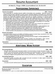 Accountant Resume Sample Extraordinary Accountant Resume Examples Elegant Accounting Resume Sample