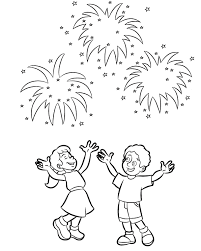Small Picture Coloring Pages For Kids New Year Fireworks New Year Coloring