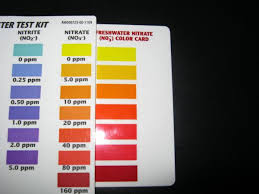 Master Test Kit Chart Api Nitrate Tests Tropical Fish Keeping Aquarium Fish