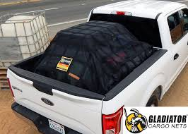 gladiator cargo net heavy duty truck cargo net adjule certified attacehmnt