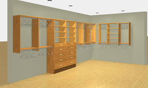 our closet designs in 3d 2d drawings before we start the install you can easily visualize what your closets will actually look like