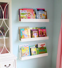 Wall Mount Bookcase Kids Wall Mounted Bookcase Bobsrugbycom