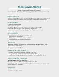 Resume For Computer Science Luxury Download 14 Idea