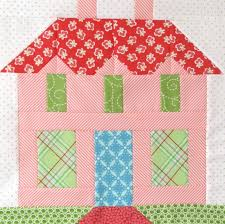 141 best The Quilted House... images on Pinterest | Quilt pattern ... & Bee In My Bonnet: My Home Sweet Home Quilt Block Pattern - In Quiltmakers  Magazine Adamdwight.com