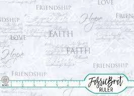 FAITH HOPE CHRISTIAN Fabric by the Yard, Fat Quarter Silver Gray ... & FAITH HOPE CHRISTIAN Fabric by the Yard, Fat Quarter Silver Gray  Inspirational Love fabric Religious fabric 100% Cotton Quilting Fabric t2-4 Adamdwight.com