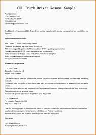 related for 7 commercial truck driver resume sample truck driver resume format