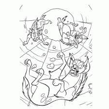 Lion King Leeuwenkoning Kleurplaat Printen Leuk Voor Kids