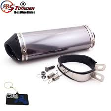 Muffler Clamp Size Chart Us 49 52 19 Off Stoneder Racing 38mm Silence Exhaust Muffler Removable Silencer Clamp For Dirt Bike Motorcycle Motocross Atv Trx Crf Klx Drz In