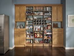 kitchen solution traditional closet:    can pantry