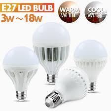 Us 100 E14 E27 Base Led Bulb 220v Ikea Warm White Light 3w 5w 7w 9w 12w 18w Bulbs Wholesale Led Lampada Lights Free Shipping In Led Bulbs Tubes