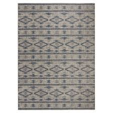 safavieh cy8863 36812 grey and navy courtyard indoor outdoor rug lowe s canada