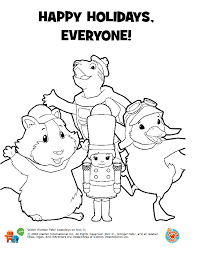 Small Picture Wonder Pets Nutcracker Coloring Book Pages 5png 612792