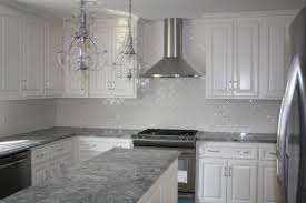 White Cabinets Dark Grey Countertops White Kitchen Cabinets With