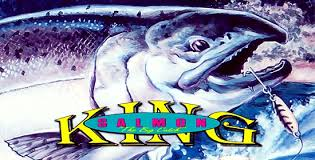 Image result for KING salmon fishing cartoon Pic