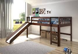 kids low loft bed. Beautiful Loft Donco Kids Twin Low Loft Bed With Slide 750TELoft BedsHipBeds  In