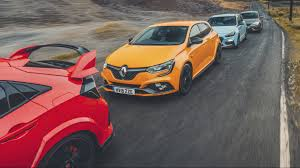 De Beste Hot Hatch Megane Vs Leon Vs Civic Vs I30 Topgear Nederland