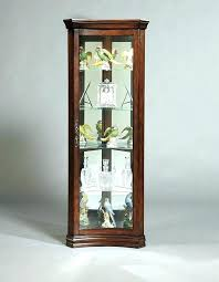 small glass curio cabinet display case wall mounted display cabinets with glass doors small china cabinet