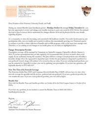 Cover Letter To University Open Enrollment Cover Letter For 2016 By Princeton