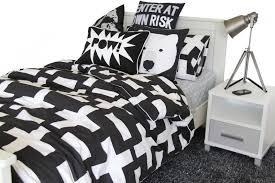 black white duvet cover.  Black Throughout Black White Duvet Cover O