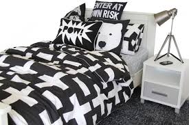 black and white duvet covers. Plain Black Intended Black And White Duvet Covers W