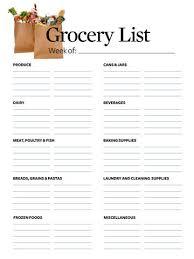 Grocery List Makes Shopping Easier | Better Homes & Gardens