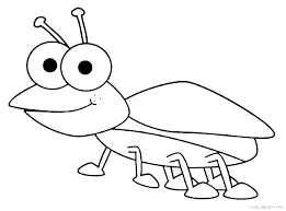 insect coloring pages preschool insects ideas for bug kids page