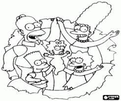 Kleurplaten De Simpsons The Simpsons Kleurplaat 2