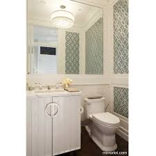 how to make a small bathroom look