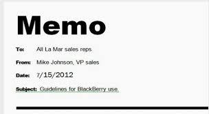 Writing Memo Samples Format For An Instructional Memo Memo Format Memo
