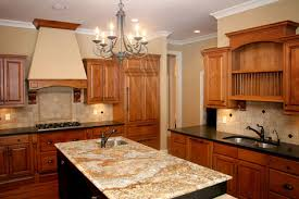 custom home kitchen granite countertops double sink island w utility sink