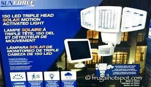 costco outdoor solar lights led lights led solar motion security light frugal led flood light fixtures