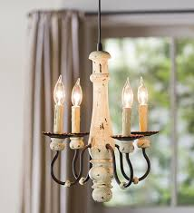 four candle chandelier in pendant light is an easy update can light conversion chandelier