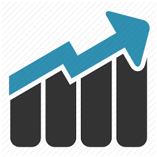 Sales Chart Icon Financial Diagrams Reports By Laura Reen
