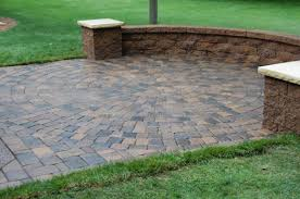 Small Picture Patio Designs Among Retaining Walls Combined With Flooring Tile