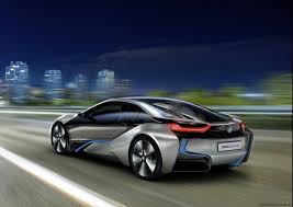 BMW i8 Concept plug-in hybrid sports car in detail - Photos (1 of 16)