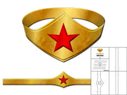 Wonder Woman Tiara Temp Pic Remarkable Crown Template