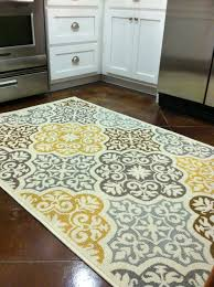 Area Rugs For Kitchen Floor Kitchen Rug Purchased From Overstockcom Blue Grey Yellow
