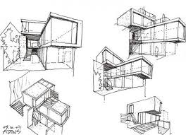 modern architectural drawings. Architectural Models Modern Drawings H