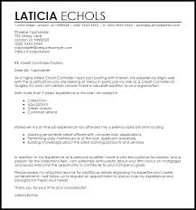 credit controller cover letter sample 3d animator cover letter