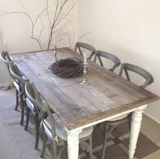 shabby chic dining table chairs and bench. shabby chic dining chairs regarding charming table and bench pics 257